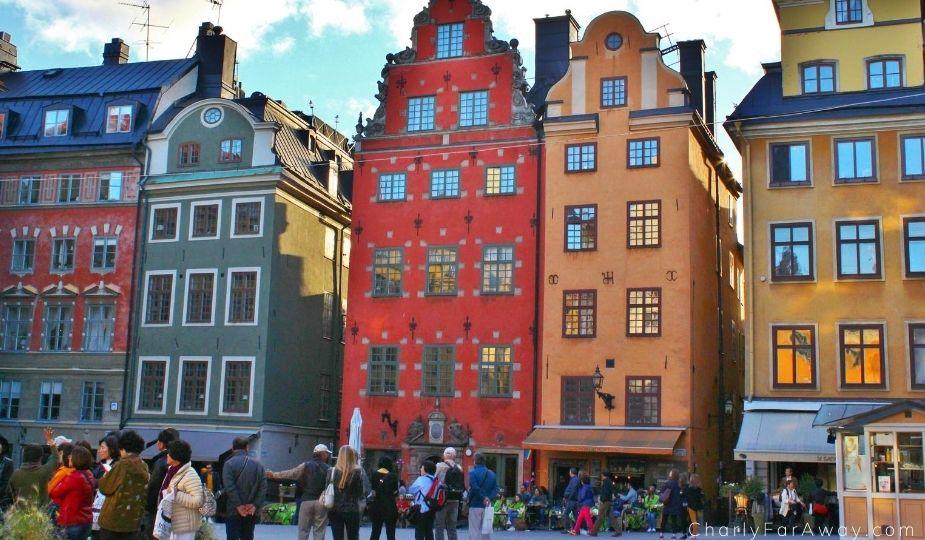 stockholm gamla stan suède stortorget