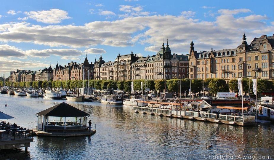 Strandvägen stockholm suède