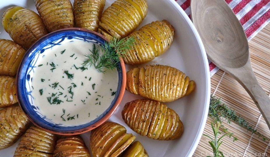 Hasselback pommes de terre