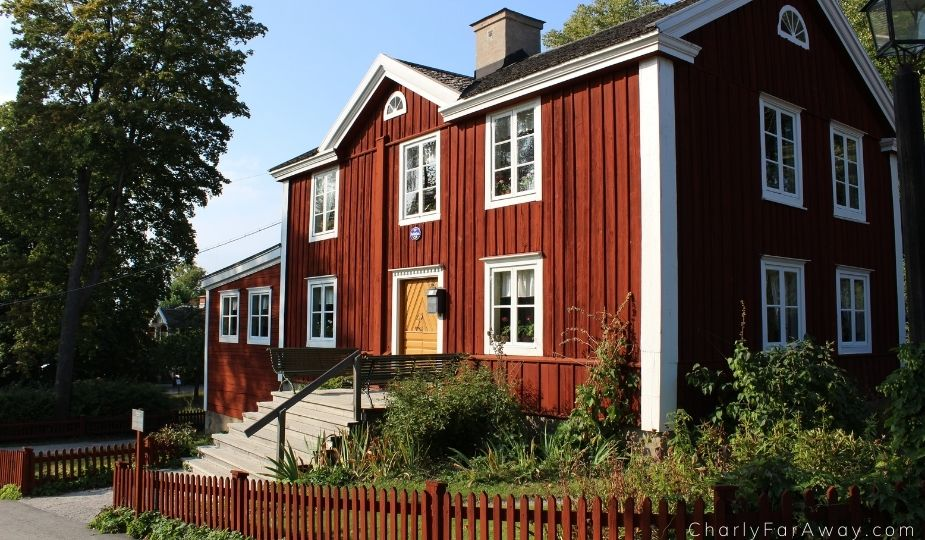 maison traditionnelle skansen