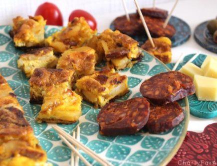 Recette Tortilla Chorizo